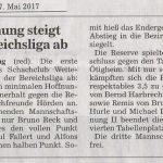 ABB-Spielbericht 9. Spieltag